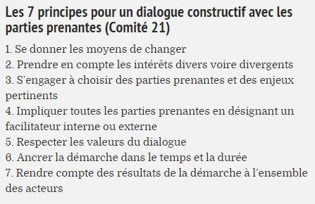 comité21 7 principes